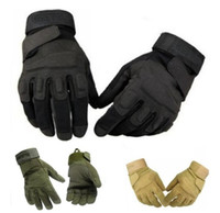 Wholesale Outdoor Sports Blackhawk Camping Military Tactical Swat Airsoft Hunting Motorcycle Cycling Racing Riding Gloves Armed Mittens