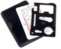 Multi Knife Stainless Steel Stainless Steel Multifunction Stainless Steel Multi Tool Army Hunting Survival Pocket Credit Card Knife
