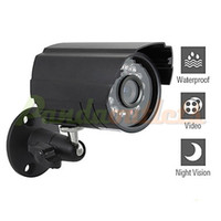 Wholesale Mini Waterproof CCTV Camera with Sony CCD and Night Vision