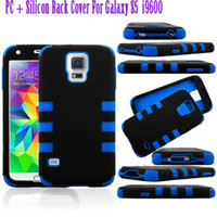 New Arrival For Samsung Galaxy S5 i9600 PC+ Silicon 3 in 1 Go...