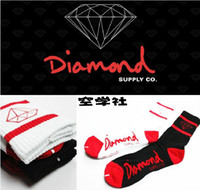women athletic wear - Fashion Cotton men women lovers stripe Diamond supply co Thicken Skateboarding Street Wear outdoors Sport Socks