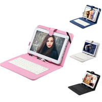 Wholesale Ship from USA iRuLu quot Android A23 Tablet PC Dual Core Capacitive GB G Dual Camera WIFI Bundle quot Leather Keyboard Case