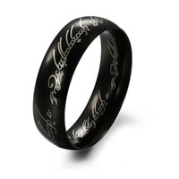 316L Stainless Ring Supremacy Ring For Man