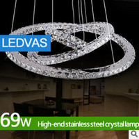 Wholesale LEDVAS Modern Crystal Chandelier Light Fixture Crystal lamps Ceiling Lamp Luster chandeliers LM81016D Freeshipping
