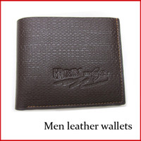 Wholesale Classic genuine leather wallets branded quality card holder zipper pocket wallet for men