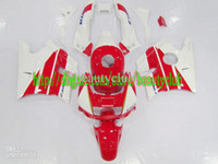 Comression Mold For Honda CBR600 F2 Wholesale - Freecustom F2 Free custom- red white for HONDA CBR600 91 92 93 94 CBR600F2 91-94 CBR 600 F2 1991-1994 1991 1994 fairing kit Y70