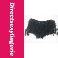Cheap 2014 New Hot Women Thongs Soft and Sexy Lace Panties, Hot Ruffle Short Panty LC50830-2