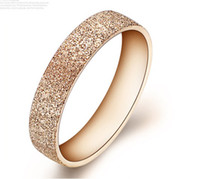 316L Stainless Steel Ring Rose Gold Ring For Woman 50pcs lot...