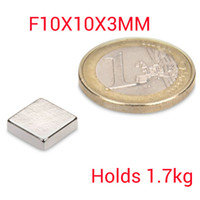 Wholesale 50 neodymium magnets x x mm rare earth n52 block magnets strong