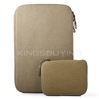 Wholesale 11 Inch Protective Bag Pouch for Macbook Air Khaki