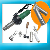 Yes 1500W 110/220v 220v 50HZ 1500w Plastic Welder Gun +speed nozzle heat element Hot Air Gun Free Shipping