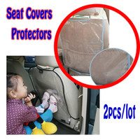 Wholesale 2X Car Seat Cover Back Protectors for Children Babies Protect from Mud Dirt Universal Color