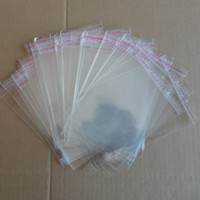 Wholesale x cm Clear Self Adhesive Seal Big Plastic OPP Packing Bags