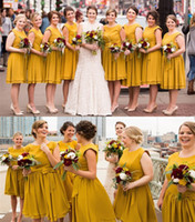 Mustard Yellow Bridesmaid Dress Price Comparison | Buy Cheapest ...