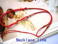 Wholesale DIY new Oil bottle necklace accessories strands braided necklace cord hand craft Pendant Line chain cord