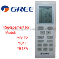 Wholesale GREE Split And Portable Air Conditioner Remote Control YB1F2 YB1F YB1FA Compatible for GE TRANE WESTINGHOUSE MABE