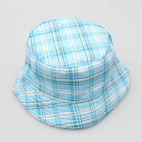 Unisex Summer Visor Free shipping New Bucket Summer Hat,children fashion hot plaid cap (TM-3)