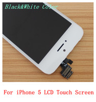 For Apple iPhone Touch Screen LD88899 For iPhone 5 5G LCD Display With Glass Touch Screen Digitizer Replacement Parts For iphone 5 IPHONE 5 Free Shipping