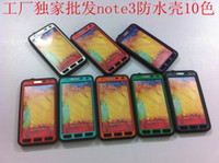 For Samsung Plastic  2014 newest verstion ! Redpepper Waterproof Case for Samsung Galaxy Note 3 N9000 N9006 N9008 Dust Snow Shock Proof Water Proof Cases