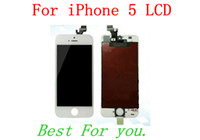 For Apple iPhone Touch Screen LD888100 DHL Free Shipping For iPhone 5 5G LCD Display With Glass Lens Touch Screen Digitizer Replacement Parts For iphone 5 IPHONE 5