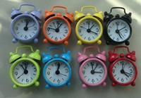 beautiful alarm - WL QT Beautiful Table Metal Bell Alarm Clock Novelty Households Clock