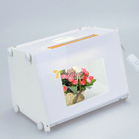 "Light Box   SANOTO 12""x8"" Portable Mini Kit Photo Photography Studio Light Box Softbox MK30"