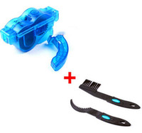Wholesale 3pc Bicycle Chain Cleaner Cycling clean Brushes bike chain cleaner Tool kits Clean Brush pc Brush pc Cleaner Machine