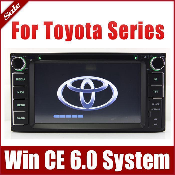 Auto Radio Car Dvd Player For Toyota Rav4 Corolla Camry