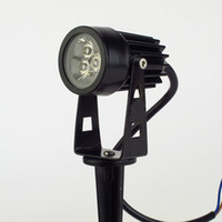 Wholesale Hot DC v W led outdoor lawn light Waterproof IP65 Garden Yard landscape Spot Lamp spotlight Lighting