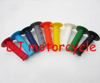 Wholesale 22mm Universal Dirt Bike Handle Bar Grips Soft Grips For ATV Pocket Pit Bike Colors Available