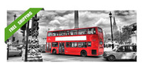 Wholesale London red bus oil painting