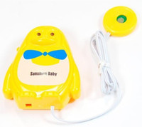 Cheap New Baby Sensor Wet Reminder Bedwetting Enuresis Toddler Baby Urine Sensor Alarm Baby Diaper Alarm