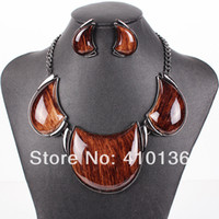 big orange earrings - MS17785 Brand Jewelry Sets Gunmetal Plated African Jewelry Sets Big Pendant Bright Colors High Quality Party Gifts New