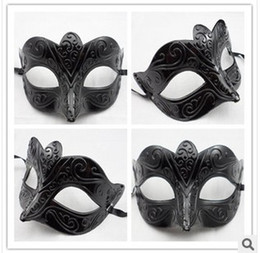 Wholesale - The new black mask Archaize ripples mask masquerade mask