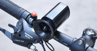 Wholesale NEW Cycling Bicycle Electric Horn Bell bicycle siren Handlebar Ultra loud Bell Ring Alarm bicycle accessories