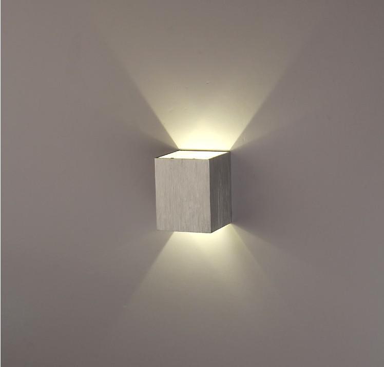 2017 Led Wall Light Lamp Warm White / White 3w Bracket Light Up And Down Side For Bedroom,Living ...