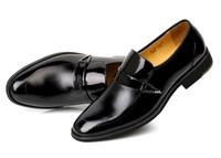 beef business - High quality quality goods business suit men s leather shoes Genuine leather men s shoes British beef tendon casual shoes