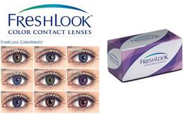 Wholesale Contact lenses lens For Eyes pieces pairs Freshlook eyeglass frames optical frame Tones colors EYE