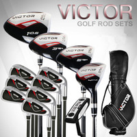 Wholesale Golf clubs men s sets of rods a full set of beginner