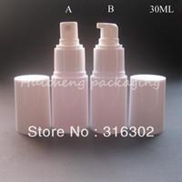 Wholesale ML White Sprayer Bottle CC PS Mist Sprayer Bottle oz Lotion Pump Bottle Shampoo Bottle