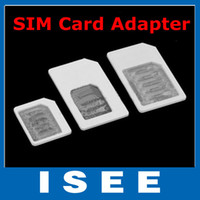 Wholesale Nano to Micro Standard SIM Card Adapter for iPhone S