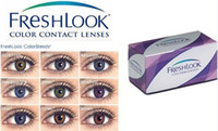 Wholesale Brand New Freshlook pairs free case Contact lenses lens For Eyes Color Contact Tones colors EYE Crazy lens Freshlook