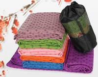 Wholesale Hot Sales Health Care Skidless Yoga Towel Yoga Mat Non slip Yoga Mats for Fitness Yoga Blanket