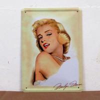 iron painting antique imitation Monroe Tin Sign Bar pub home Wall Decor Retro Metal Art Poster Good Gifts V-81 Freeshipping