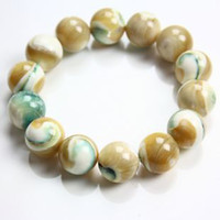 clam - Pro Bao Crystal Jade Watkins Natural Tridacna clam rare Queling bracelet Valentine s Day gift