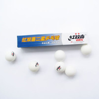 Wholesale Double planet sleep table tennis ball white mm training ball