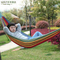 Cotten Outdoor Furniture 128 camping swing outdoor thickening canvas hammock