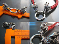 Wholesale Finding Set Antique Silver Dragon Head Toggle amp Clasp with Openable Ring Inside mm Diameter