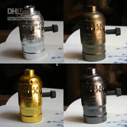 Wholesale antique vintage edison style light bulb electric light socket UL listing