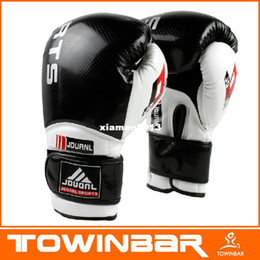High Quality Professional Leather Boxing Gloves Fight,Sanda Punch Bag MMA Muay Thai Pad 10 oz Make in china wholesale